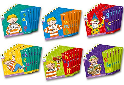 Oxford Reading Tree: Level 1+: Floppy's Phonics: Sounds and Letters: Class Pack of 36: ...
