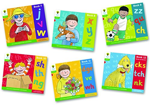 9780198485636: Oxford Reading Tree: Level 2: Floppy's Phonics: Sounds and Letters: Pack of 6