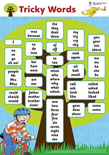 9780198486114: Oxford Reading Tree: Floppy's Phonics: Sounds and Letters: Tricky Words Poster
