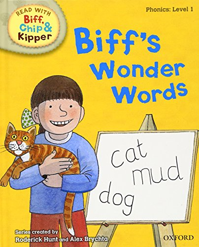 9780198486176: Oxford Reading Tree Read with Biff, Chip, and Kipper: Phonics: Level 1: Biff's Wonder Words (Read with Biff, Chip & Kipper. Phonics. Level 1)