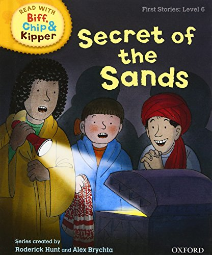 9780198486626: Secret of the Sands (Read with Biff, Chip and Kipper: First Stories, Level 6) (Read with Biff, Chip & Kipper. First Stories. Level 6)