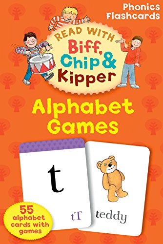 9780198486640: Oxford Reading Tree Read With Biff, Chip, and Kipper: Alphabet Games Flashcards (Read With Biff Chip & Kipper)