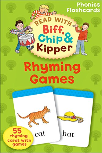 9780198486657: Oxford Reading Tree Read With Biff, Chip, and Kipper: Phonics Flashcards: Rhyming Games