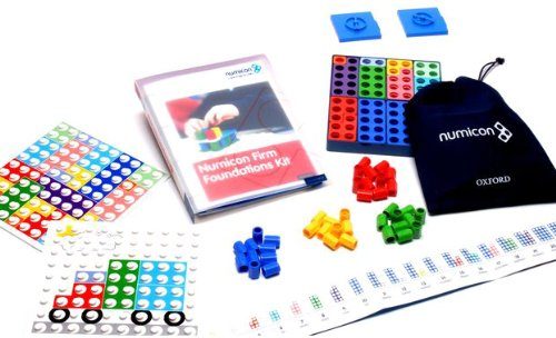 9780198486923: Numicon: Firm Foundations One to One Kit