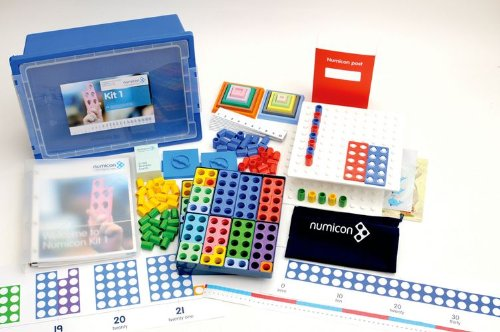 9780198486930: Numicon: Numicon Kit 1 Group Kit