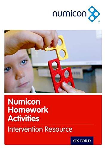 Numicon: Homework Activities Intervention Resource - Homework