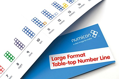 9780198487180: Numicon: Large Format Table Top Number Line