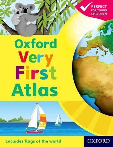 9780198487869: Oxford Very First Atlas Paperback 2011