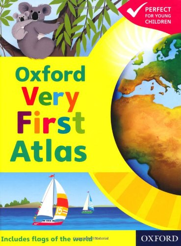 9780198487876: OXFORD VERY FIRST ATLAS NEW ED