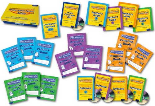 Maths Makes Sense:year 3-6 Super Easy Buy Pack (Mixed media product): Richard Dunne, Carrie Dunne, ...