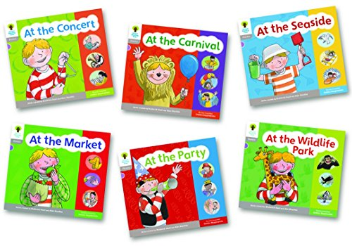 9780198488828: Oxford Reading Tree: Floppy Phonics Sounds & Letters Level 1 More a Pack of 6