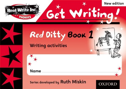 9780198489443: Read Write Inc. Phonics: Get Writing!: Red Ditty Books 1-5 Pack of 50