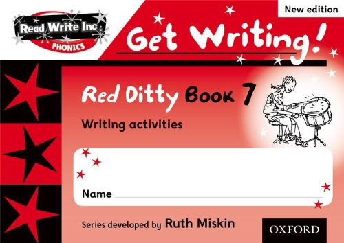 9780198489450: Read Write Inc. Phonics: Get Writing!: Red Ditty Books 6-10 Pack of 50