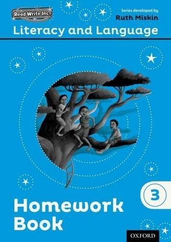 9780198493686: Read Write Inc.: Literacy & Language: Year 3 Homework Book Pack of 10