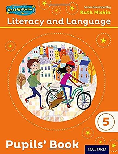 9780198493730: Read Write Inc.: Literacy & Language: Year 5 Pupils Book