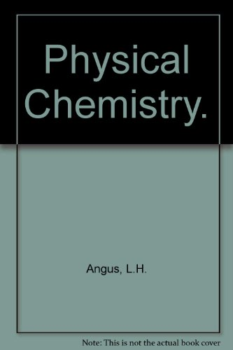 9780198501022: Physical Chemistry
