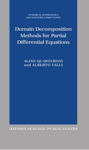 9780198501787: Domain Decomposition Methods for Partial Differential Equations (Numerical Mathematics and Scientific Computation)