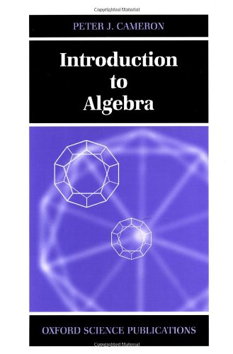 9780198501947: Introduction to Algebra
