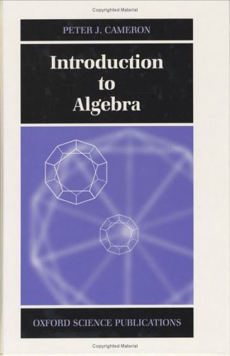 9780198501954: Introduction to Algebra