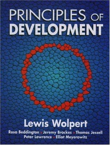 9780198502630: Principles of Development