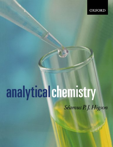 9780198502890: Analytical Chemistry