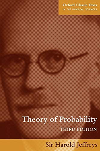 9780198503682: Theory of Probability (Oxford Classic Texts in the Physical Sciences)