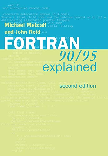 9780198505587: Fortran 90/95 Explained