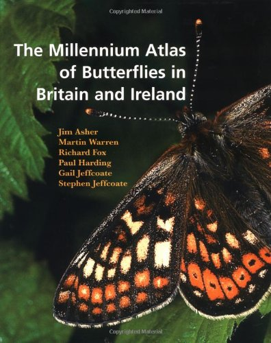 9780198505655: Millennium Atlas of Butterflies in Britain and Ireland