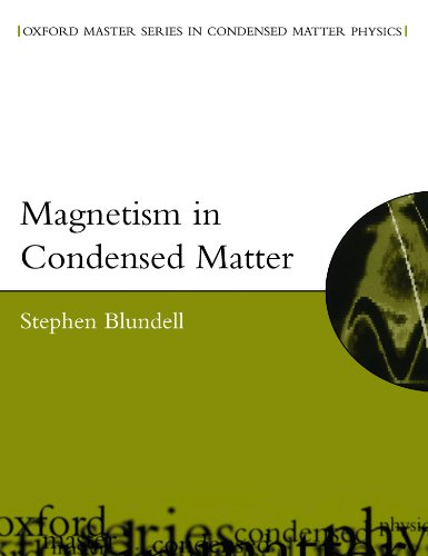 9780198505914: Magnetism in Condensed Matter (Oxford Master Series in Condensed Matter Physics)