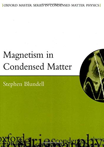 9780198505921: Magnetism in Condensed Matter (Oxford Master Series in Condensed Matter Physics 4)