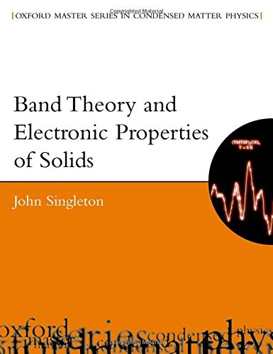 9780198506447: Band Theory and Electronic Properties of Solids (Oxford Master Series in Condensed Matter Physics)