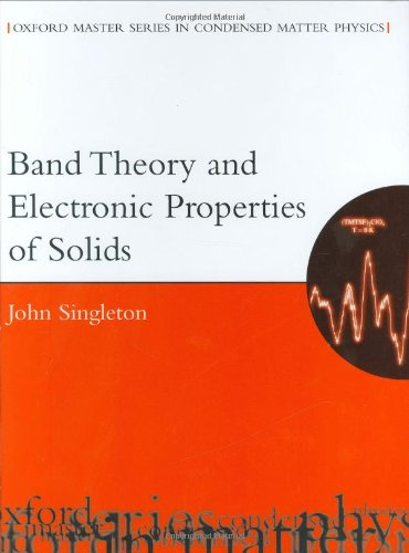 9780198506454: Band Theory and Electronic Properties of Solids