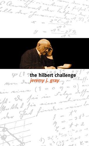 9780198506515: The Hilbert Challenge