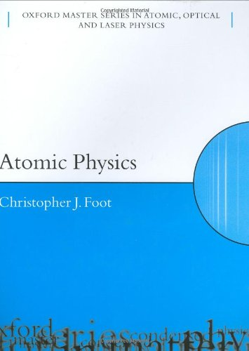 9780198506959: Atomic Physics (Oxford Master Series in Physics)