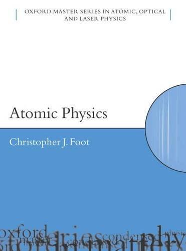 9780198506959: Atomic Physics