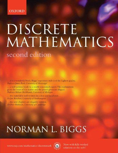 9780198507178: Discrete Mathematics