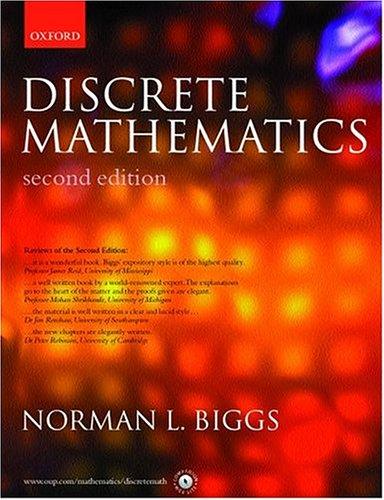 9780198507185: Discrete Mathematics
