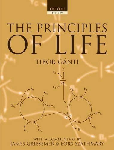 9780198507260: The Principles of Life