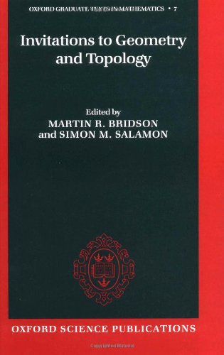 9780198507727: Invitations to Geometry and Topology (Oxford Graduate Texts in Mathematics)