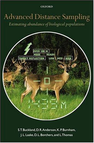 9780198507833: Advanced Distance Sampling: Estimating Abundance of Biological Populations