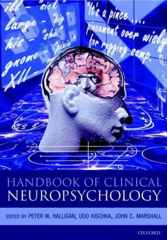 9780198508014: Handbook of Clinical Neuropsychology (Oxford Handbook)