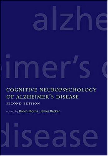 9780198508304: Cognitive Neuropsychology of Alzheimer's Disease