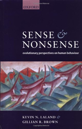 9780198508847: Sense and Nonsense: Evolutionary Perspectives on Human Behaviour