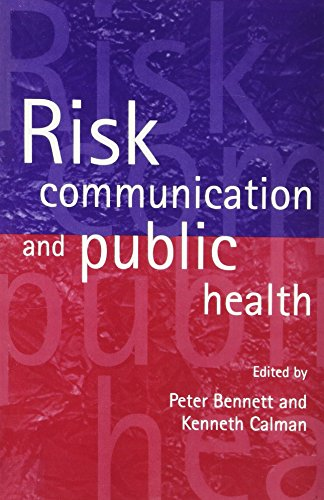 9780198508991: Risk Communication and Public Health (Oxford Medical Publications)