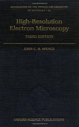 9780198509158: High-Resolution Electron Microscopy (Monographs on the Physics and Chemistry of Materials)
