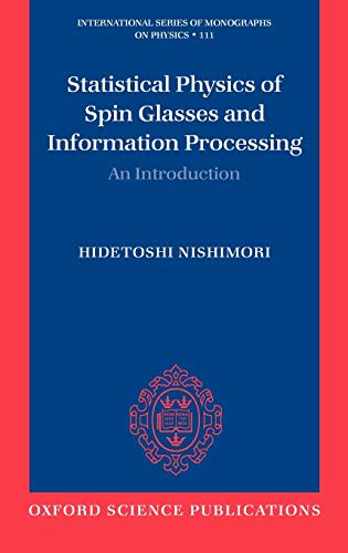 9780198509400: Statistical Physics of Spin Glasses and Information Processing: An Introduction (International Series of Monographs on Physics)
