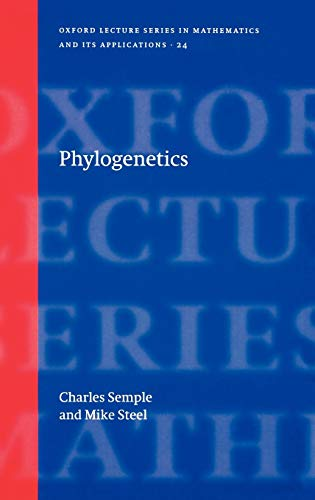 9780198509424: Phylogenetics (Oxford Lecture Series in Mathematics and Its Applications)