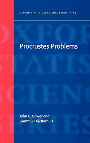 9780198510581: Procrustes Problems (Oxford Statistical Science Series)