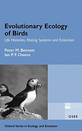 9780198510888: Evolutionary Ecology of Birds: Life Histories, Mating Systems and Extinction (Oxford Series in Ecology and Evolution)