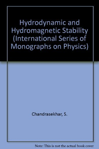 9780198512370: Hydrodynamic and Hydromagnetic Stability